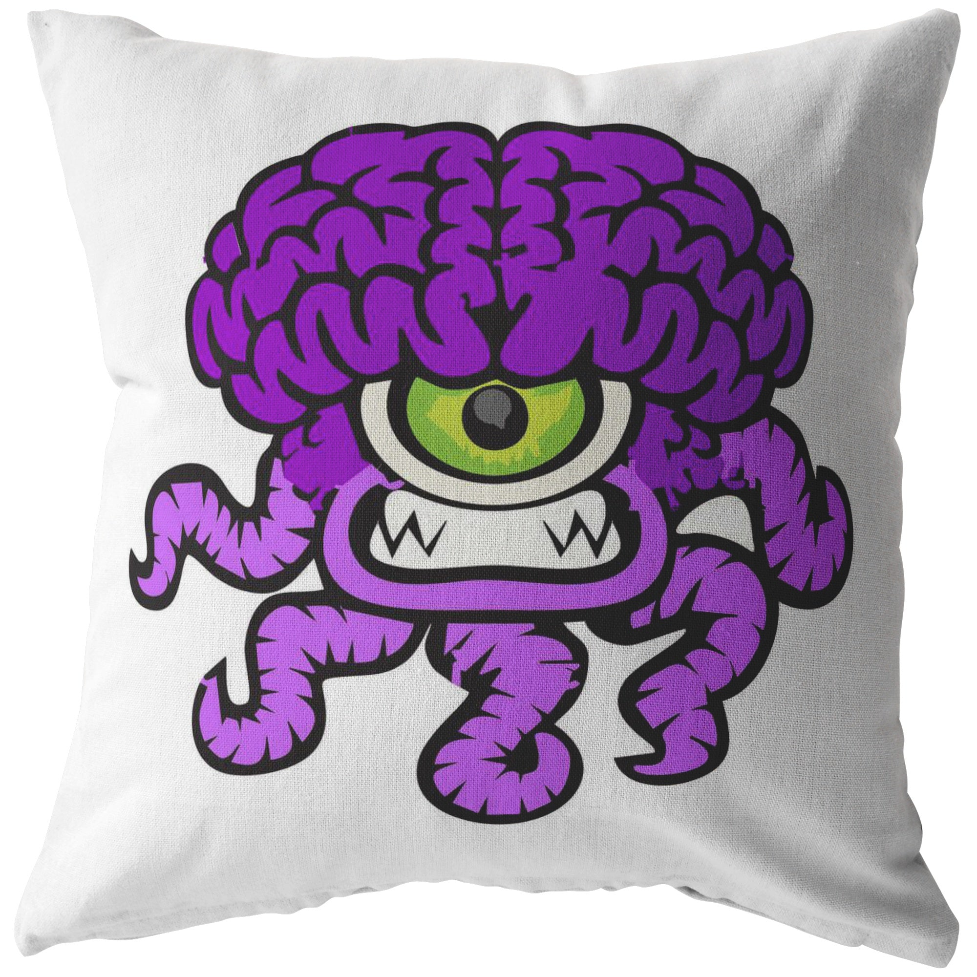 Chiari Malformation Monster Pillow - The Unchargeables