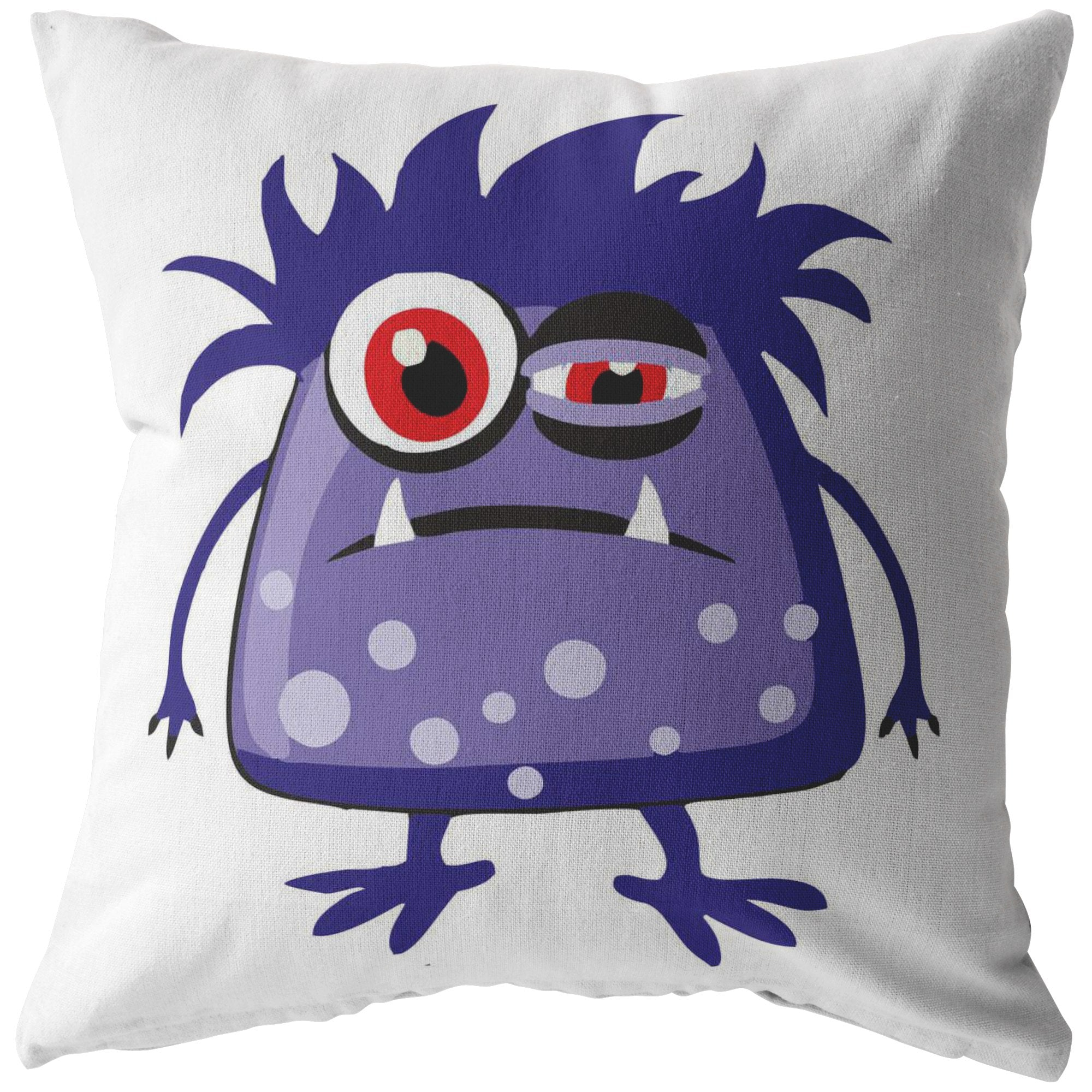 Chronic Fatigue Monster Pillow - The Unchargeables