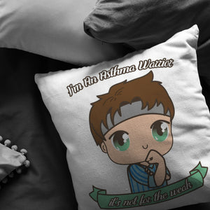 Cute Asthma Warrior Boy Pillow - The Unchargeables