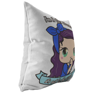 Cute CFS Warrior Pillow