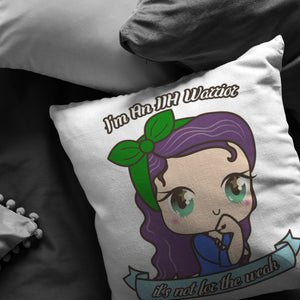Cute IIH Warrior Pillow