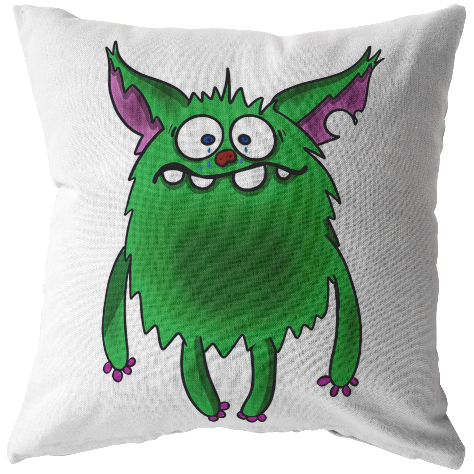 Depression Monster Pillow