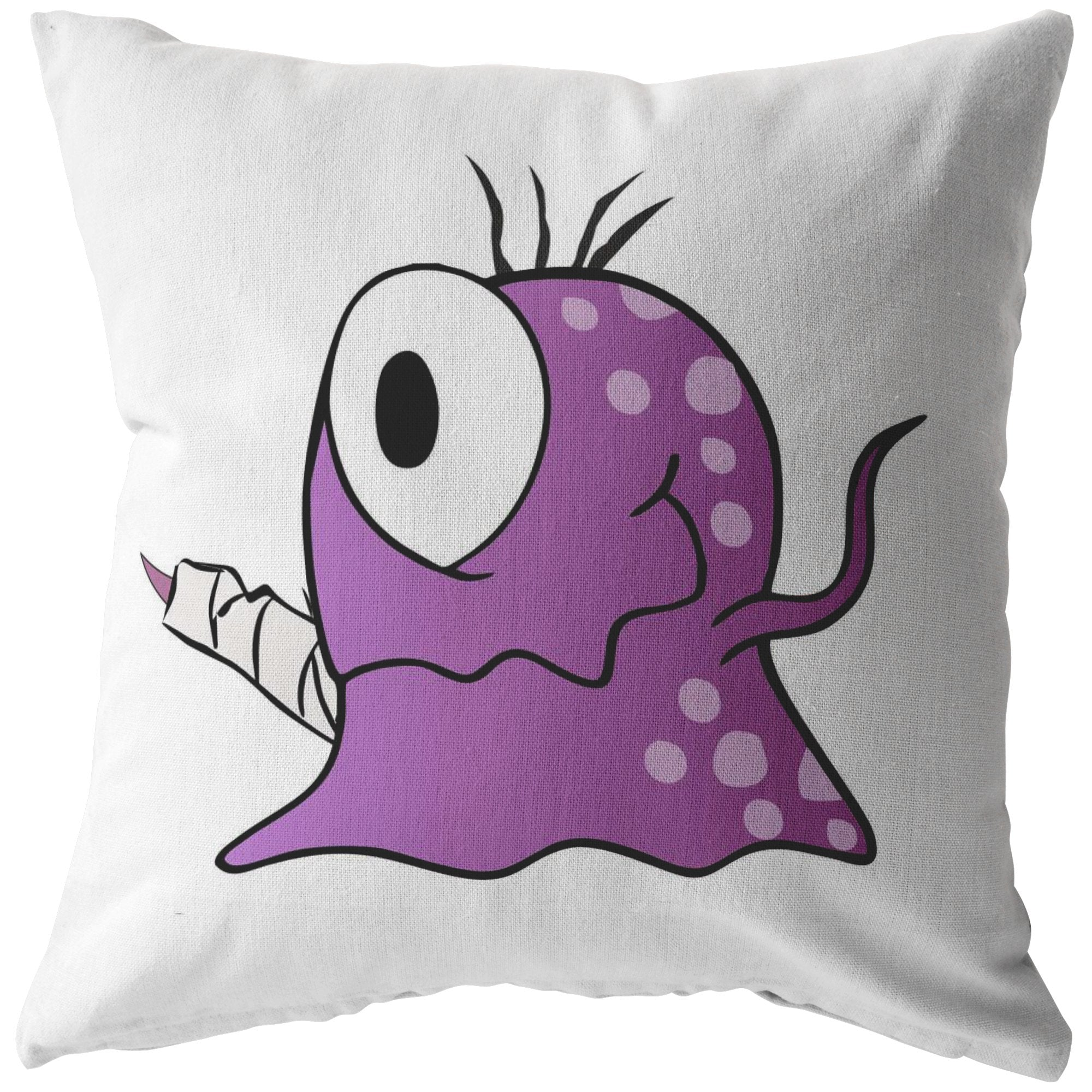 Fibro Monster Pillow - The Unchargeables
