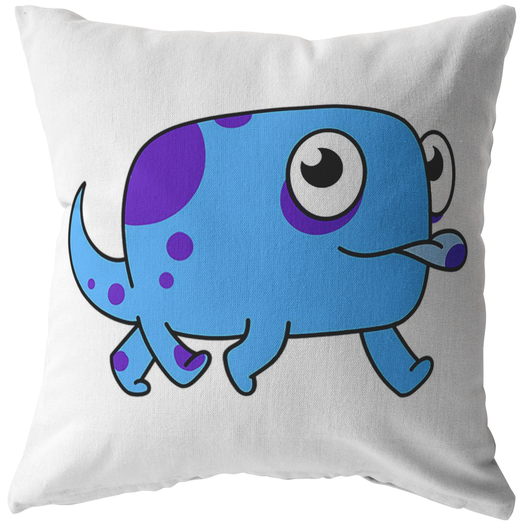 Hashi the Hashimoto's Disease Monster Pillow - The Unchargeables