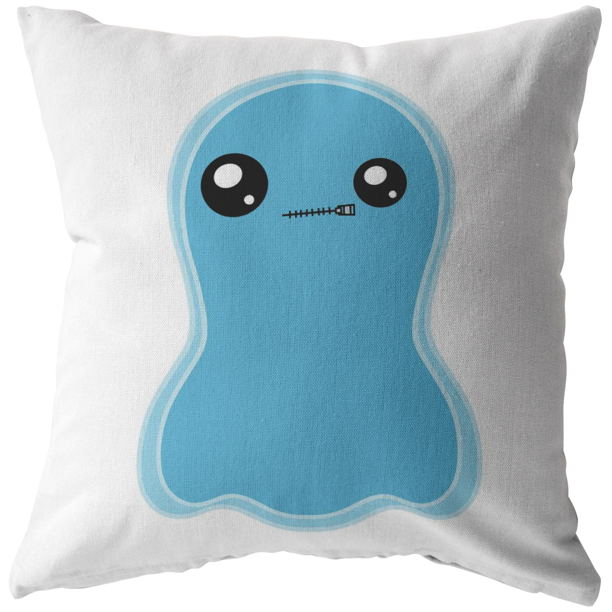 Isa the Selective Mutism Monster Pillow