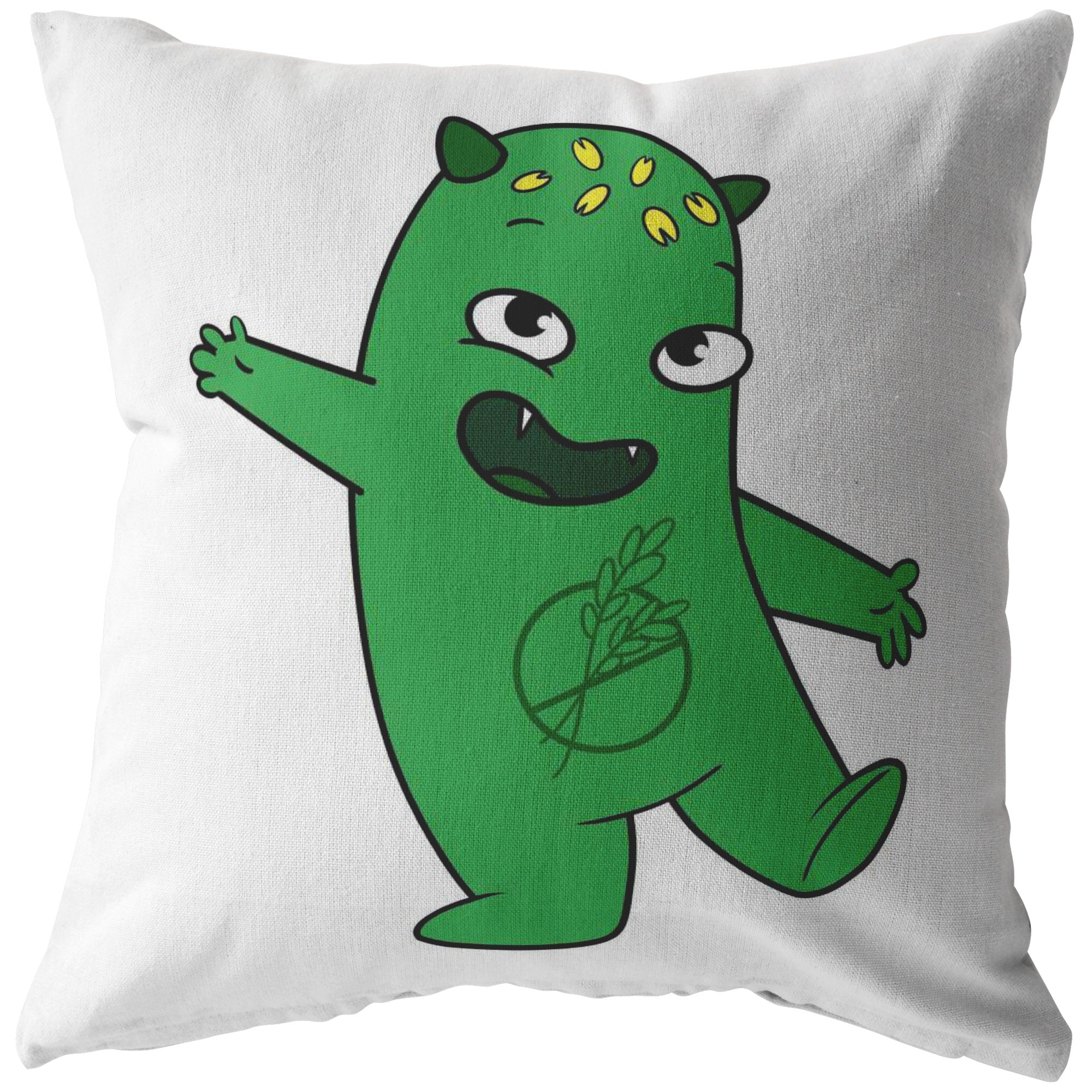 Lutes the Celiac Disease Monster Pillow