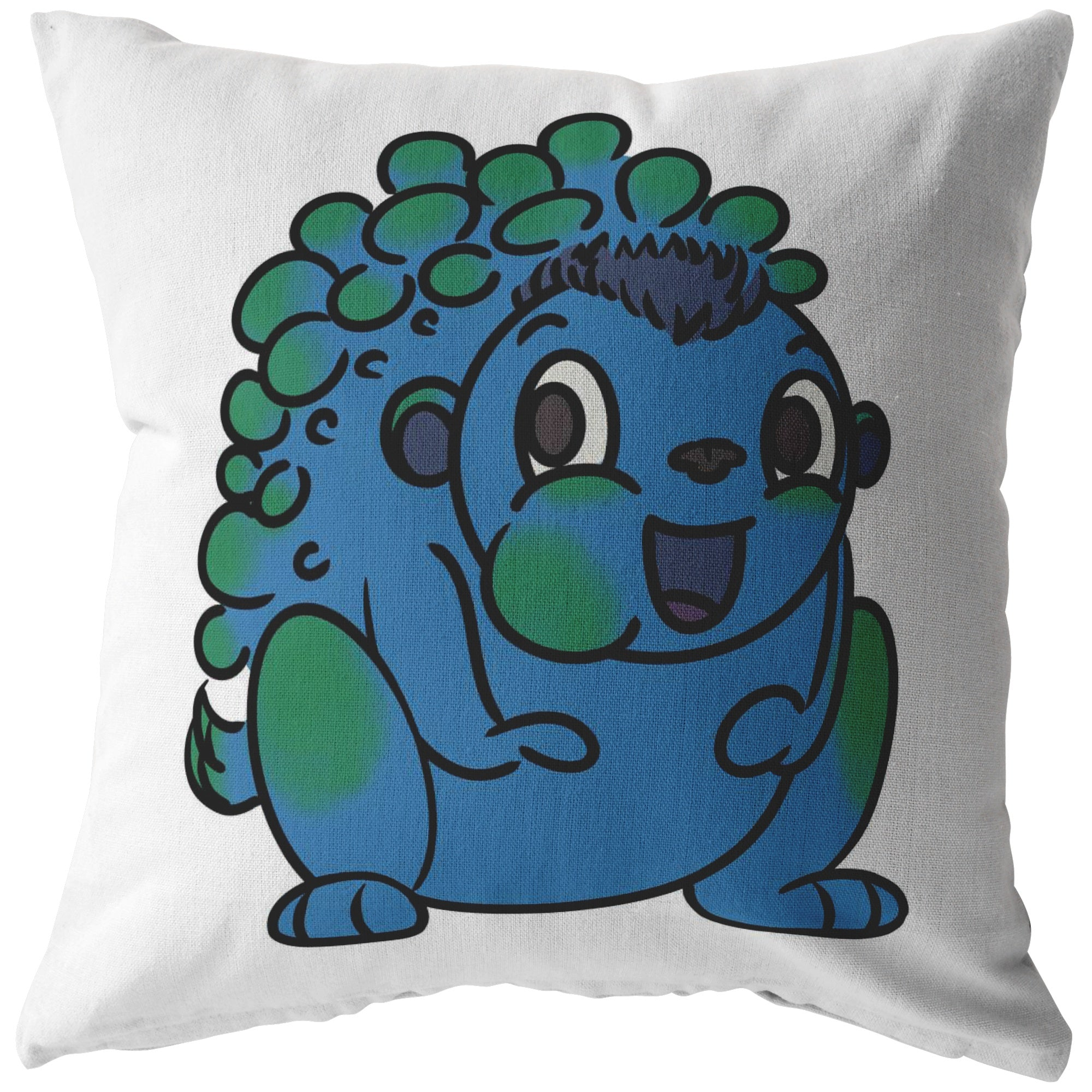 Ned the Neurofibromatosis Monster Pillow
