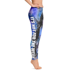PKU Warrior Black Galaxy Leggings