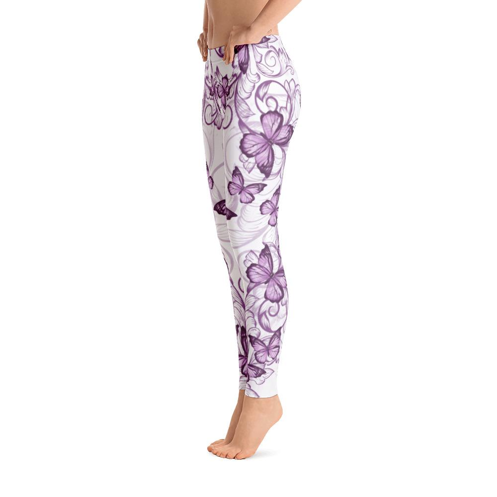 Purple Butterflies Leggings