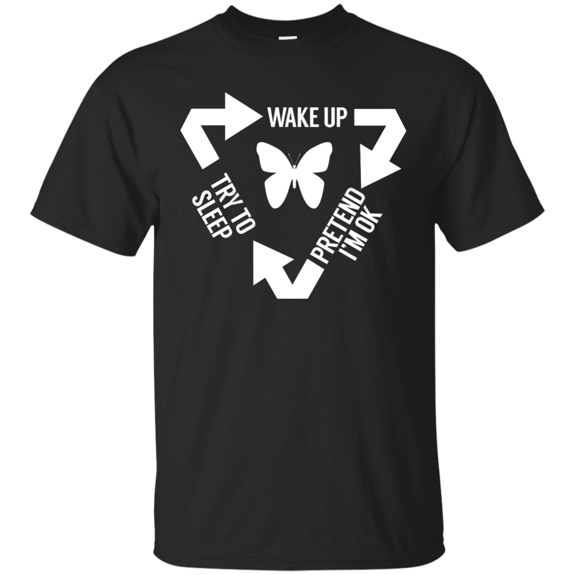 Chronic Illness Cycle Unisex Shirt - The Unchargeables
