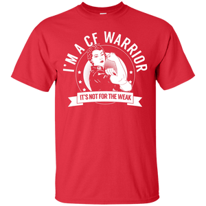 Cystic Fibrosis - CF Warrior Not For The Weak Unisex Shirt - The Unchargeables