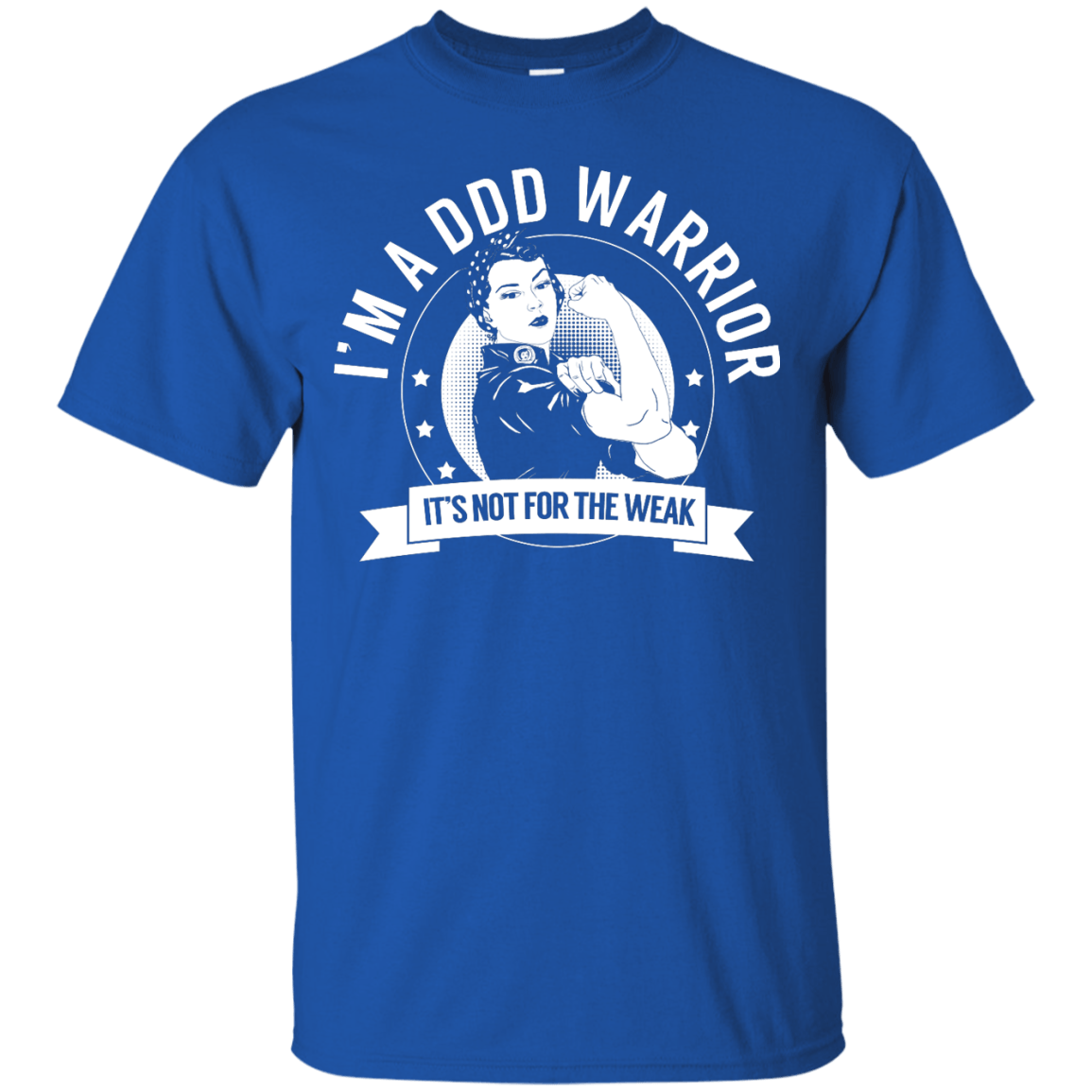 Degenerative Disc Disease - DDD Warrior Not for the Weak Unisex Shirt - The Unchargeables