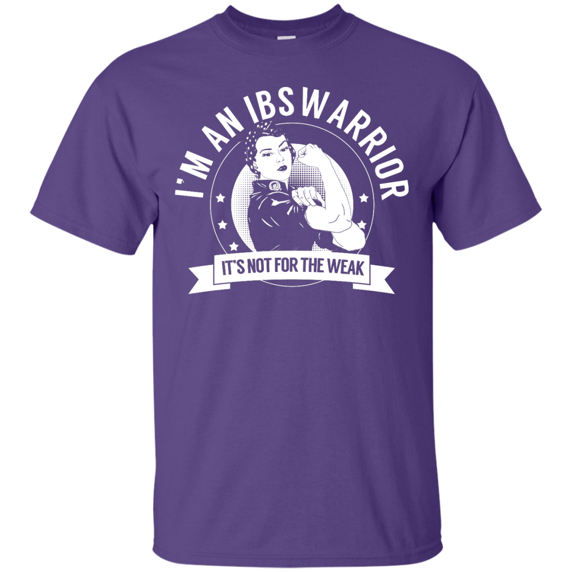 Short Sleeve - Irritable Bowel Syndrome - IBS Warrior Not For The Weak Unisex Shirt