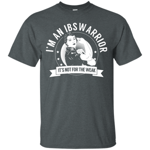 Irritable Bowel Syndrome - IBS Warrior Not for the Weak Unisex Shirt - The Unchargeables