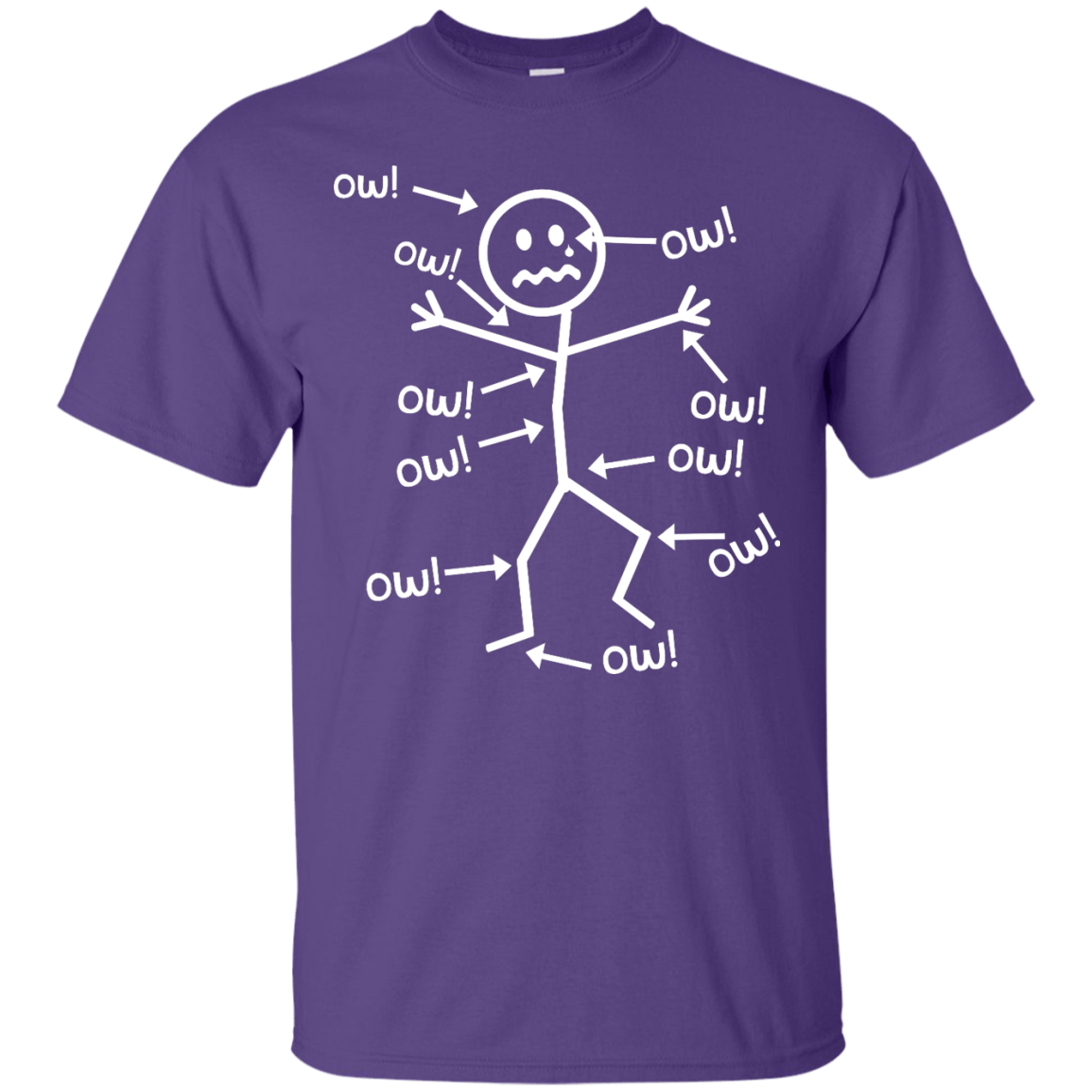 Ow Ow Ow Unisex Shirt - The Unchargeables