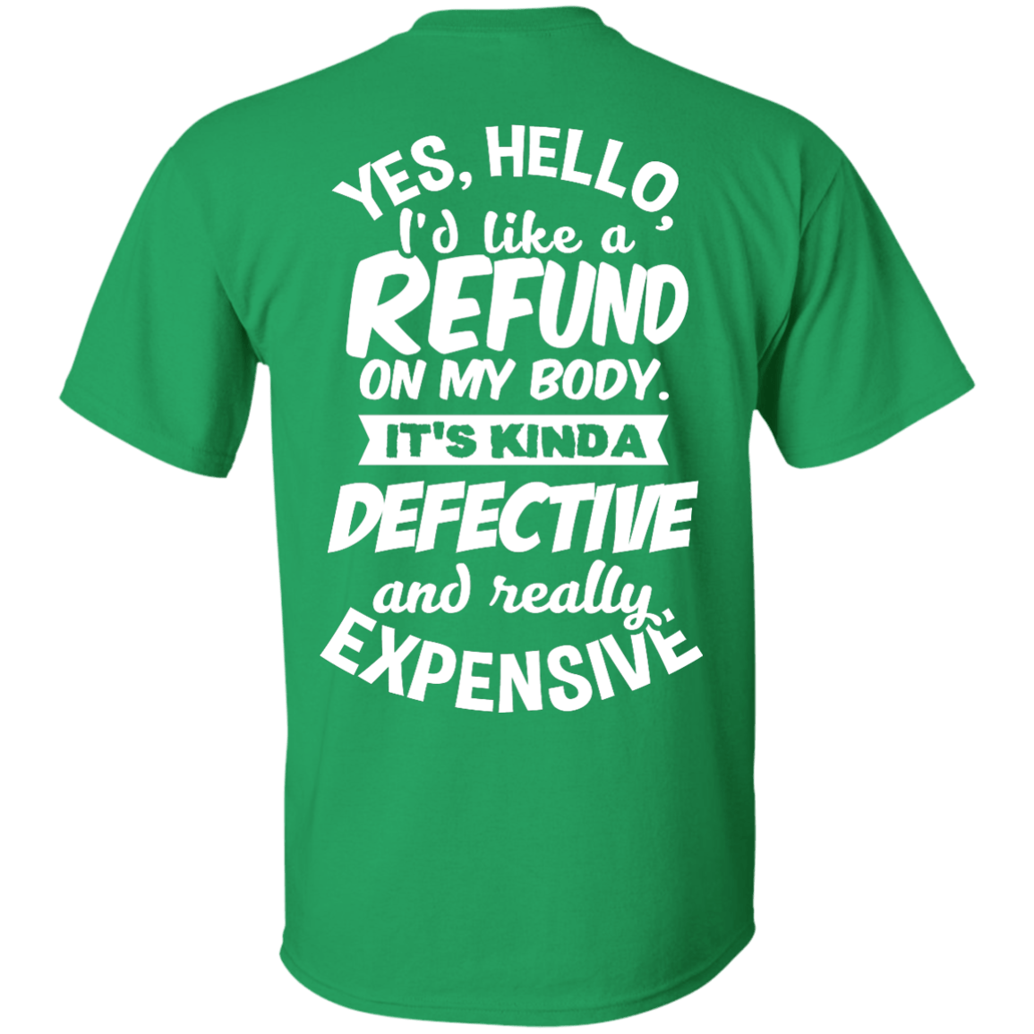 Refund on Body Unisex Shirt - The Unchargeables
