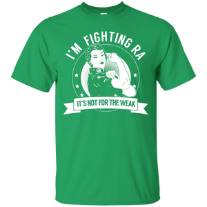 Rheumatoid Arthritis - Fighting RA Not For The Weak Unisex Shirt - The Unchargeables