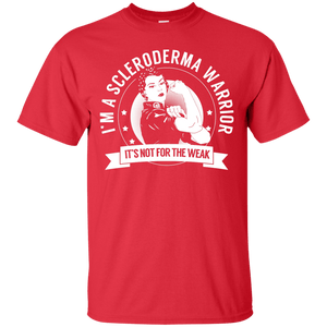 Scleroderma Warrior Not For The Weak Unisex Shirt - The Unchargeables