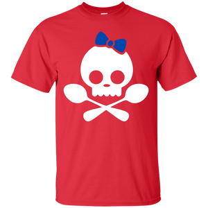 Spoonie Skull Blue Bow Unisex Shirt - The Unchargeables