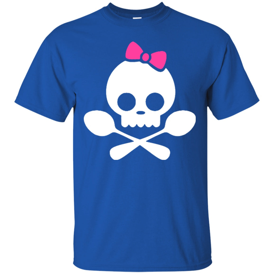 Spoonie Skull Pink Bow Unisex Shirt - The Unchargeables