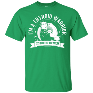 Short Sleeve - Thyroid Disease - Thyroid Warrior Not For The Weak Unisex Shirt