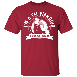 Transverse Myelitis - TM Warrior Not For The Weak Unisex Shirt - The Unchargeables