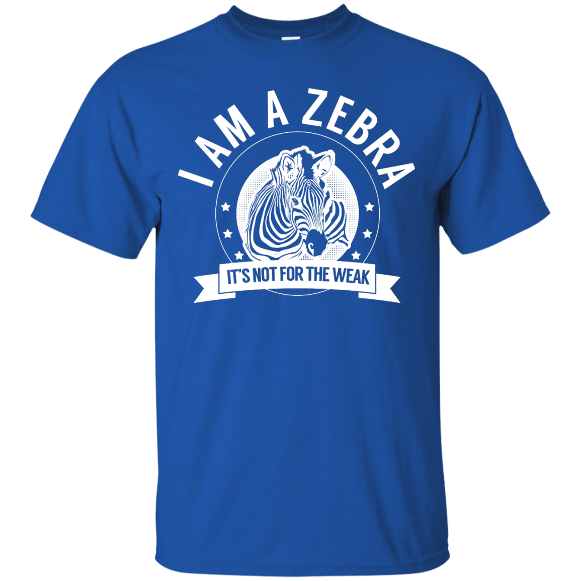 Zebra Warrior Not for the Weak Unisex Shirt - The Unchargeables