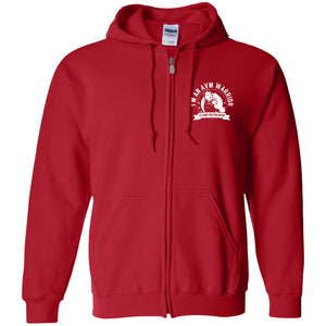 Arteriovenous Malformation - AVM Warrior NFTW Zip Up Hooded Sweatshirt