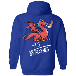AS Strong Dragon Pullover Hoodie 8 oz. - The Unchargeables