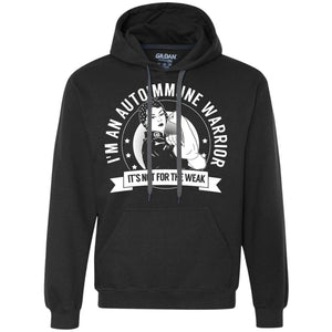 Autoimmune Warrior Not for the Weak Pullover Hoodie - Spoonies For Life