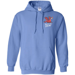 Bursitis Strong Dragon Pullover Hoodie 8 oz.