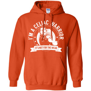 Celiac Warrior Not For The Weak Pullover Hoodie 8 oz. - The Unchargeables