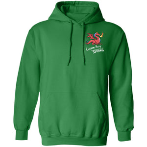 Cerebral Palsy Strong Dragon Pullover Hoodie 8 oz.