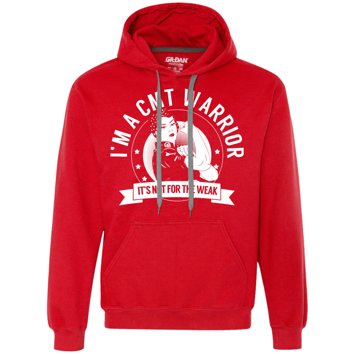 Charcot-Marie-Tooth Disease- CMT Warrior Not For The Weak Pullover Hoodie - The Unchargeables