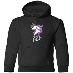 Chiari Strong Unicorn Toddler Pullover Hoodie - The Unchargeables
