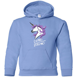 Chiari Strong Unicorn Youth Pullover Hoodie - The Unchargeables