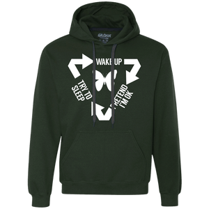 Chronic Illness Cycle Pullover Hoodie 9 oz. - The Unchargeables