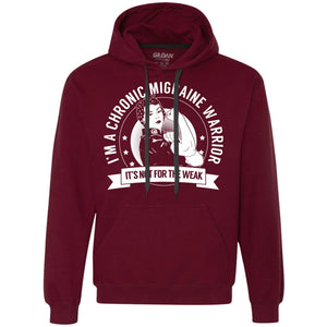 Sweatshirts - Chronic Migraine Warrior Pullover Hoodie