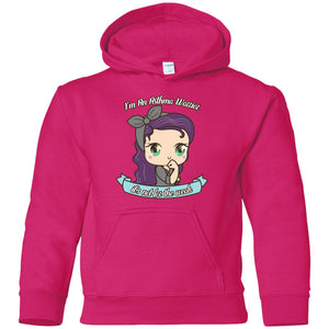 Cute Asthma Warrior Youth Pullover Hoodie