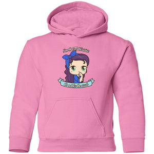 Cute CFS Warrior Toddler Pullover Hoodie