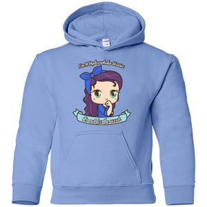 Cute Hydrocephalus Warrior Youth Pullover Hoodie