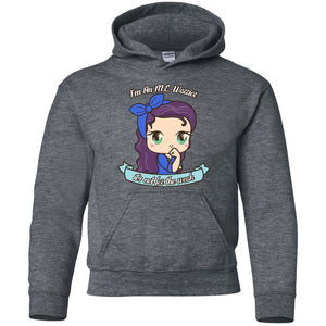 Cute ME warrior Youth Pullover Hoodie