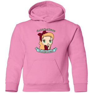 Cute Sickle Cell Warrior Toddler Pullover Hoodie