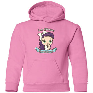 Cute SMA Warrior Toddler Pullover Hoodie