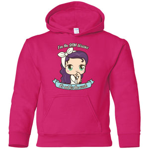 Cute SMA Warrior Youth Pullover Hoodie