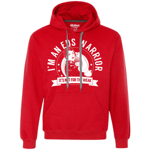 Sweatshirts - Ehlers Danlos Syndrome - EDS Warrior Not For The Weak Pullover Hoodie 9 Oz.