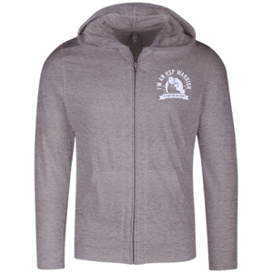 Hereditary Spastic Paraparesis - HSP Warrior Not For The Weak Full Zip Hoodie - The Unchargeables