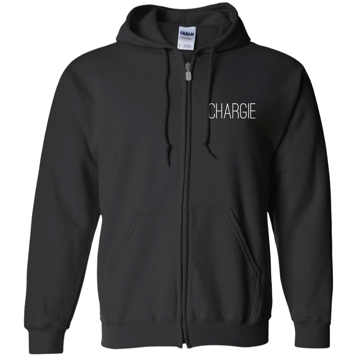 Iconic Chargie Zip Up Hooded Sweatshirt - The Unchargeables