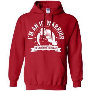 Interstitial Cystitis - IC Warrior Not For The Weak Pullover Hoodie 8 oz. - The Unchargeables