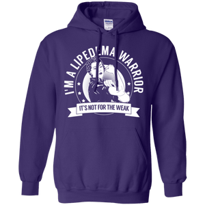 Lipedema Warrior Not For The Weak Pullover Hoodie 8 oz. - The Unchargeables